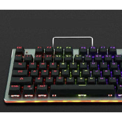 Anti-Fade Keycaps Wired ANTI-GHOSTING Mechanical Gaming Keyboard:BiBset.com