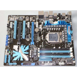 ASUS P7P55D-E motherboard DDR3 LGA 1156 USB2.0 USB3.0 for I5 I7 CPU 16GB P55 Desktop motherborad:BiBset.com