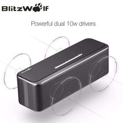 BlitzWolf Bluetooth Speaker Portable Stereo Speaker Mini:BiBset.com