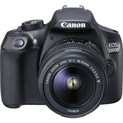 Canon EOS 1300D Rebel T6 DSLR Wi-Fi Camera with 18-55mm III Lens:BiBset.com