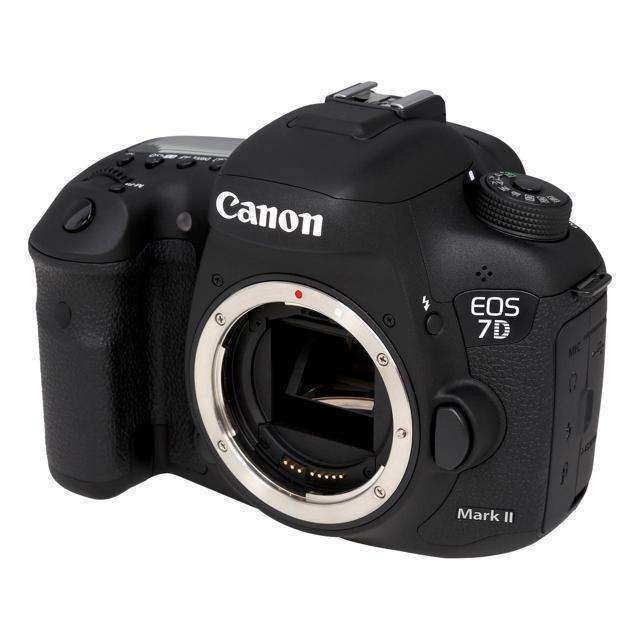 Canon EOS 7D Mark II MK 2 DSLR Camera Body - BLACK Multi-Languages:BiBset.com