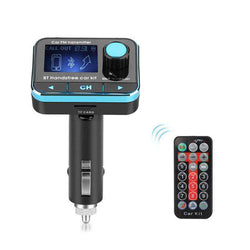 Car MP3 Player Bluetooth FM Transmitter with TF:BiBset.com