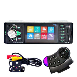 Car Radio Music Player + Rear View Camera Support Bluetooth MP5/MP4/MP3/FM:BiBset.com