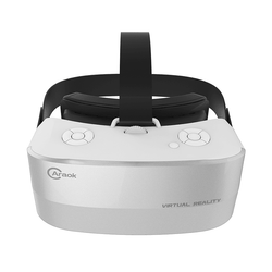 Caraok V12 3D 360 VR Headset 5.5 inch 1080P Support WiFi & Bluetooth - SILVER:BiBset.com