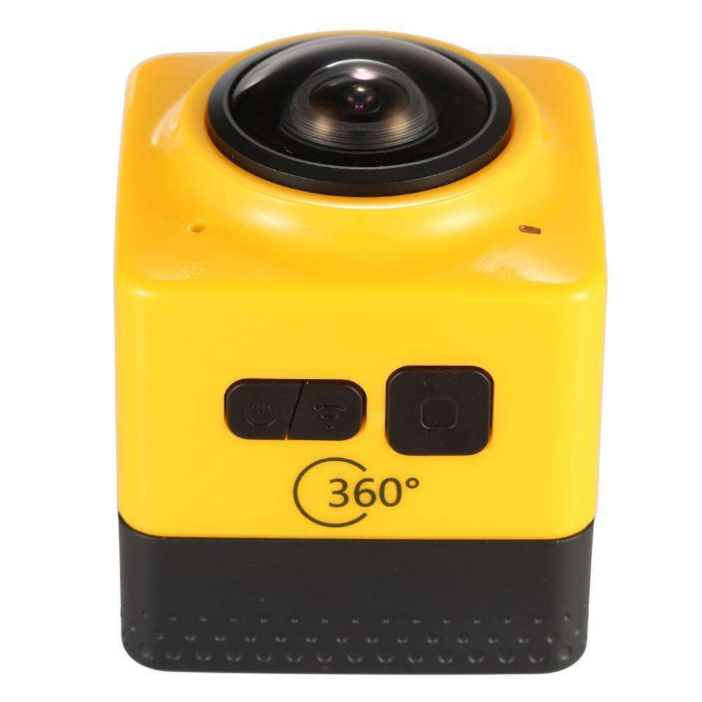 Cube 360 Degree Wide Angle Action Camera Cam Recorder wifi
