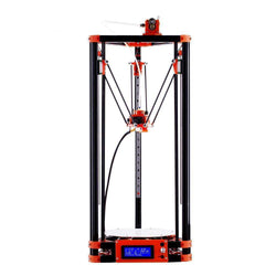 Delta 3D Printer, Large Print Size 240*285mm Pulley Version Linear Guide Kossel:BiBset.com