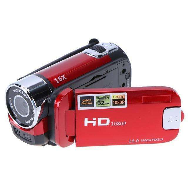 "Digital Video Camera 22MP Full HD 1080P 32GB 16x Zoom Mini Camcorder WiFi 3.0"" Touch Screen Portable:BiBset.com"