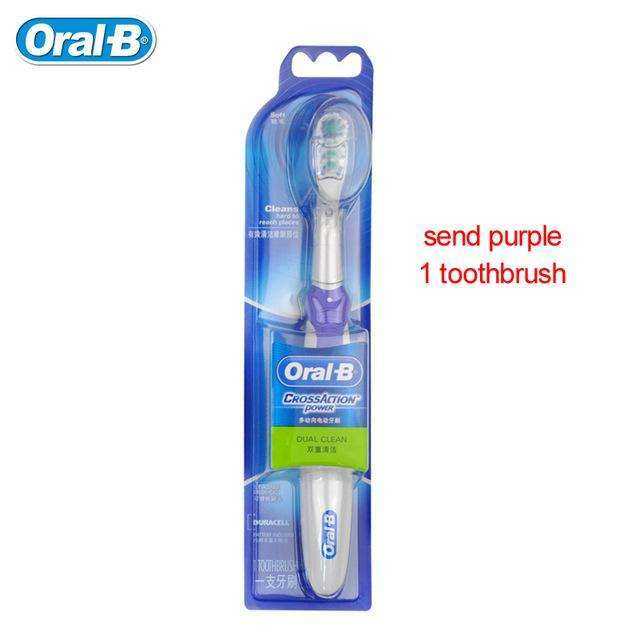 Electric Toothbrush Oral B Cross Action for clean Teeth:BiBset.com