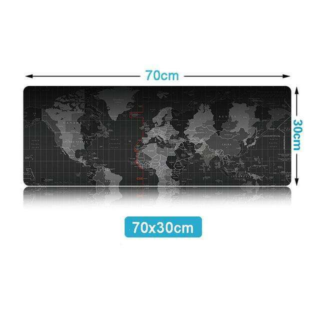Extra Large Mouse Pad Old World Map Gaming Mousepad Anti-slip Natural Rubber:BiBset.com