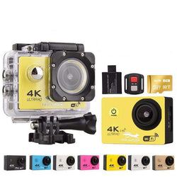 F60 Ultra HD 4K WiFi 1080P Action camera DV Sport 2.0 LCD 170D lens go waterproof:BiBset.com