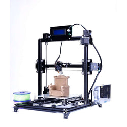 Flsun 3D Printer High Precision Large Printing Size Touch Screen Dual Extruder:BiBset.com