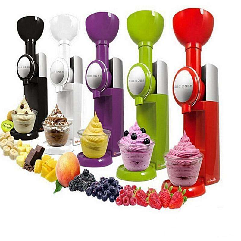 Frozen Fruit machine ice cream home full automatic:BiBset.com
