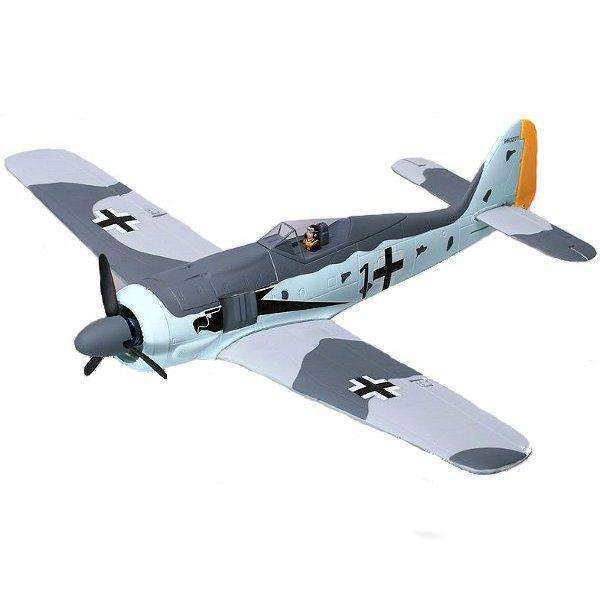 FW190 FW-190 680mm Wingspan EPS Warbird Fighter RC Airplane KIT:BiBset.com
