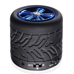 GM001 Wheel Type Multifunctional MIC Wireless Bluetooth 2.1 Speaker:BiBset.com
