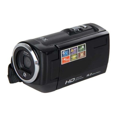 HD 720P Digital Camera HD Camcorder 16MP 16x Zoom COMS Sensor:BiBset.com