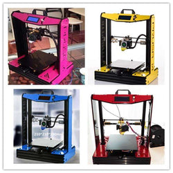 High Accurancy Desktop Sunhokey I4 Semi-DIY 3D Printer Machine 2KG Filament +SDCard+Nozzles:BiBset.com
