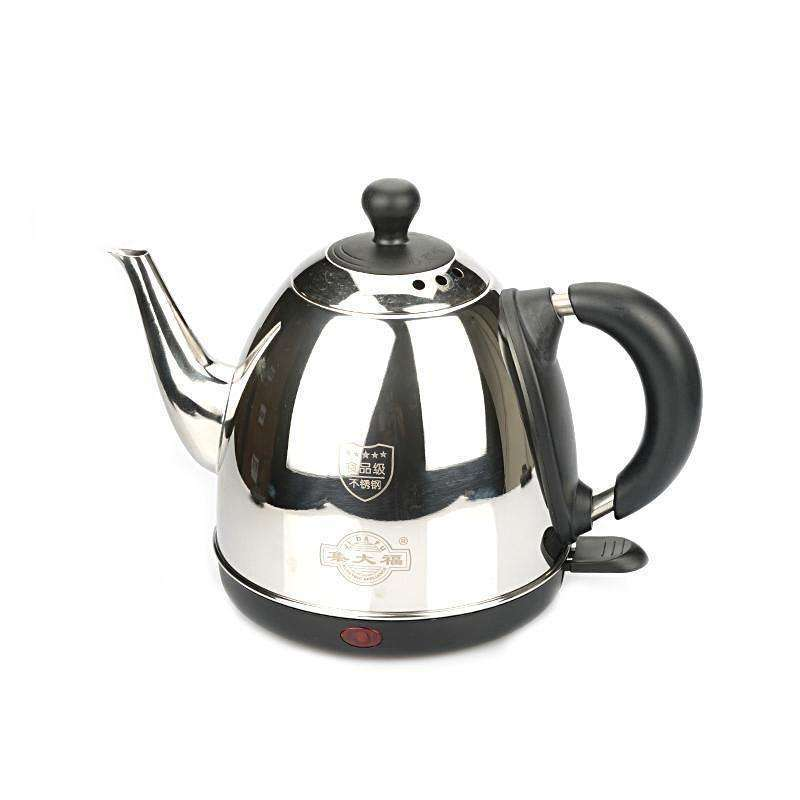 Household 1 2L Stainless Steel Electric Water Kettle With Safety Auto-off  Function