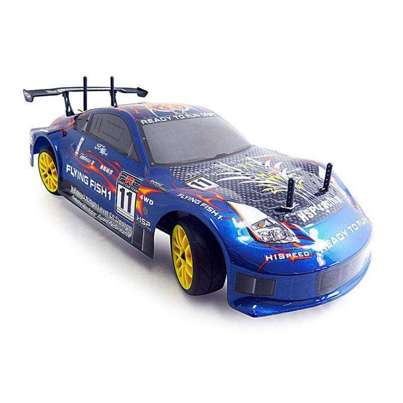 HSP 2.4G XSTR 1/10th Scale Nitro Powered Remote Control RTR:BiBset.com