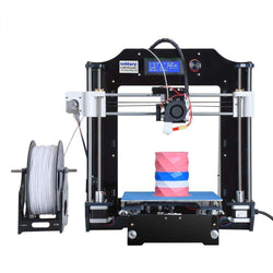 I3 3D Printer kit High Quality Desktop CNC with 1 Roll PLA filament:BiBset.com
