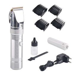 KEMEI KM-9801 Electric Rechargeable Hair Clipper Ergonomic:BiBset.com