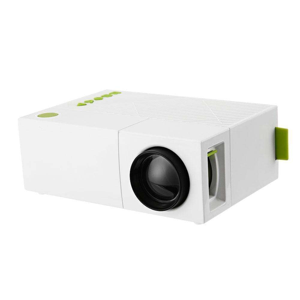 Mini YG310 LCD Projector Home Cinema Theater PC Laptop CVBS USB SD HDMI 400 Lumens 1080P:BiBset.com