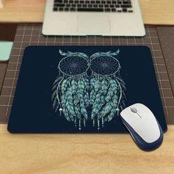 Mousepad Decorate Your Desk at Home And Office Pad Size (22x18x0.2cm):BiBset.com