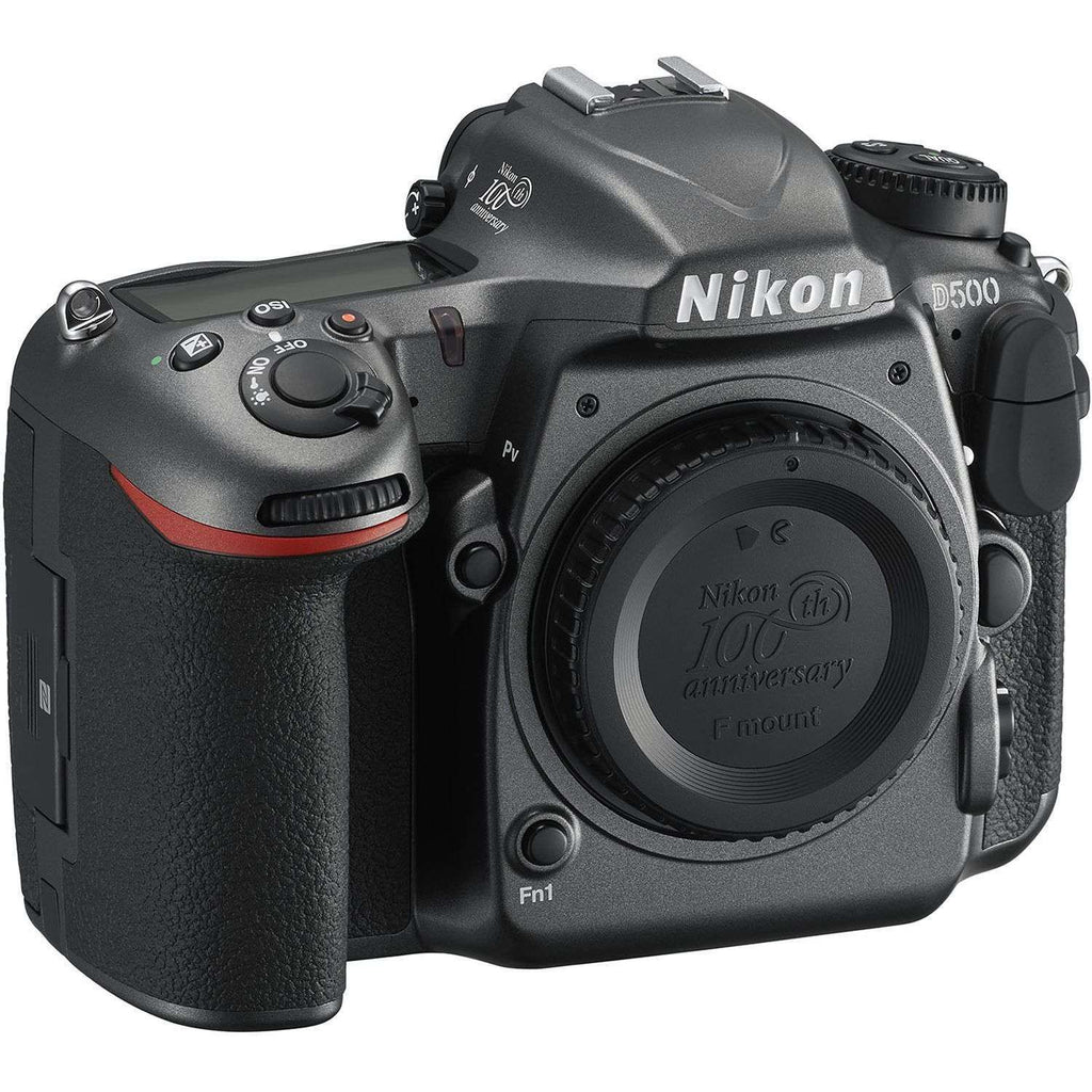 "Nikon D500 DSLR Camera -20.9MP DX-Format -4K Video -3.2"" Tilting Touchscreen LCD -153-Poin AF System - Wi-F:BiBset.com"