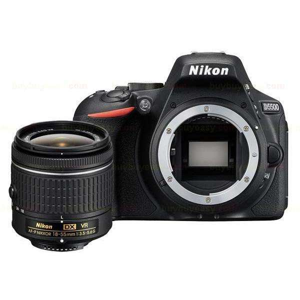 Nikon D5500 Dslr Camera -24.2MP & AF-P DX 18-55mm f/3.5-5.6G VR Lens:BiBset.com