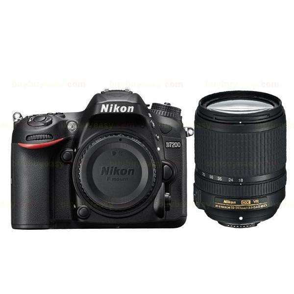 Nikon D7200 Digital SLR Camera & AF-S DX 18-140mm ED VR Lens kit Black:BiBset.com