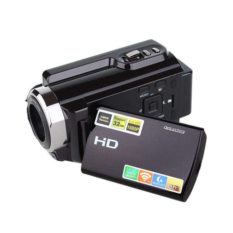 Portable Camcorder Full HD 1080p 16x Digital Zoom Digital with Wifi Max.20MP Touch Screen:BiBset.com