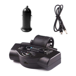 Portable Wireless Steering Wheel Handsfree Auto Bluetooth Receiver for Car:BiBset.com