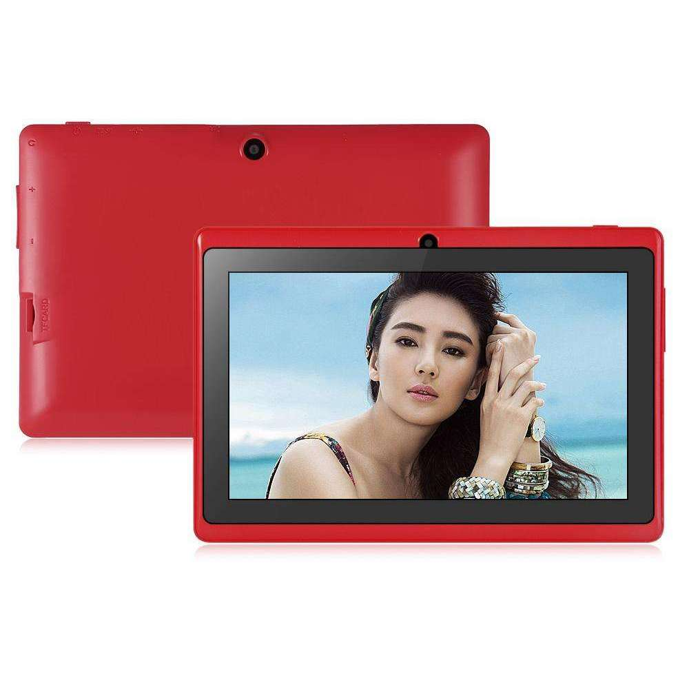 Q88H Tablet Android 4.4 1.3GHz A33 Quad Core 7.0 inch WVGA Screen 512MB 8GB WiFi:BiBset.com