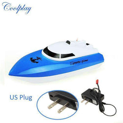 radio control RC 4 Channels Waterproof Mini speed boat Airship:BiBset.com