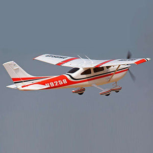 RC airplane cessna 182 RTF 2.4Ghz 6CH radios EPO fixed wing:BiBset.com