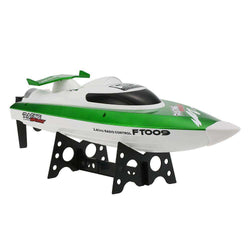 RC Boat FT009 2.4G 4CH Water Cooling System Self-righting 30km/h High Speed Racing RC Boat:BiBset.com