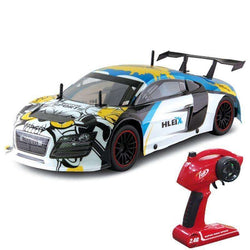 RC Car 2.4G Racing Car - R8 GT 1:10 High Speed RTR:BiBset.com