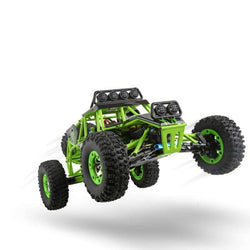 RC Car 50KM/H 1:12 4 WD Crawler 2.4G High Speed RC Off-road Car With LED Light RTR:BiBset.com