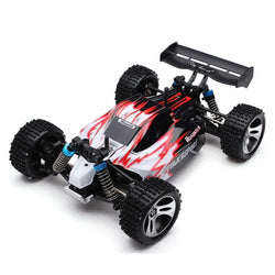 RC Car WLtoys A959 2.4G 1/18 Scale Remote Control Off-road Racing Car RTR:BiBset.com