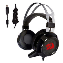 Redragon USB 7.1 Channel Surround Stereo Gaming Headset:BiBset.com