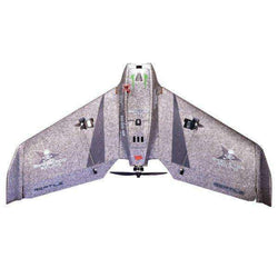 Reptile S670 Grey 670mm Wingspan EPP FPV Flying Wing RC Airplane KIT:BiBset.com