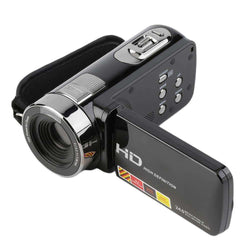 Rotatable 3.0 Inch 1080P 16X Zoom 24MP Digital Video Camera Camcorder:BiBset.com