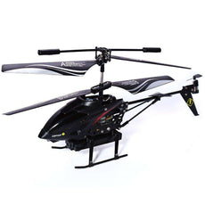 S977 3.5CH Radio RC Metal Gyro Helicopter Missile & Camera