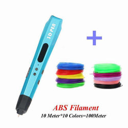 Sixth Generation 3D Painting Pen With PLA Filament 3D Printing Pens:BiBset.com