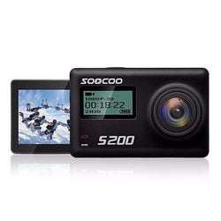 SOOCOO S200 Action Camera Ultra HD 4K with WiFi Gryo:BiBset.com