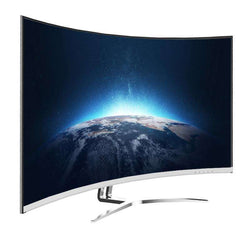 TCL T32M6C 31.5'' Curved Monitor 1800R Full HD screen:BiBset.com