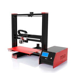 TEVO Black Widow Large Printing Area 370*250*300mm OpenBuild Aluminium Extrusion 3D Printer:BiBset.com