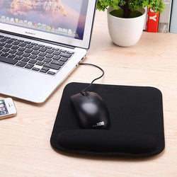 Thicken Square Comfy Mouse Pad For Optical/Trackball:BiBset.com