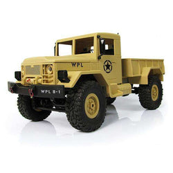 wpl 1/16 2.4G 4WD RC Crawler Off Road Car With Light RTR Toy:BiBset.com