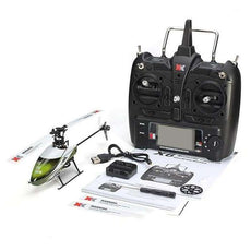 XK K100 2.4GHz 6CH Built-in Gyro Helicopter RTF Version