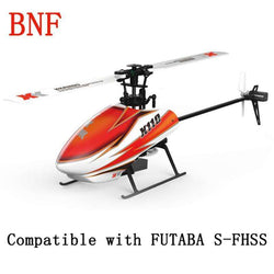 XK K110 Blast 6CH Brushless 3D6G System 3D Aerobatics Hovering Flight 6Axis RC Helicopter BNF:BiBset.com